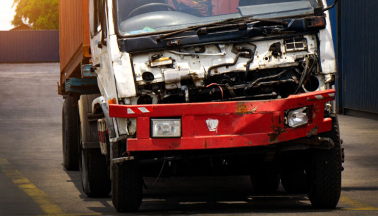 Damaged Truck removals Sydney